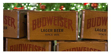 Budweiser Christmas Boxes