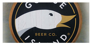 Goose Island Wall Sign